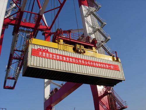 东方海外集装箱成为天津港联盟国际集装箱