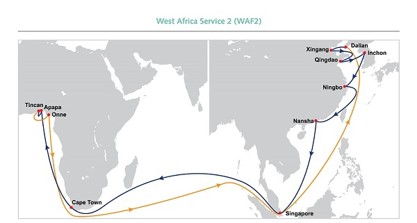 OOCL launches the West Africa Service 2