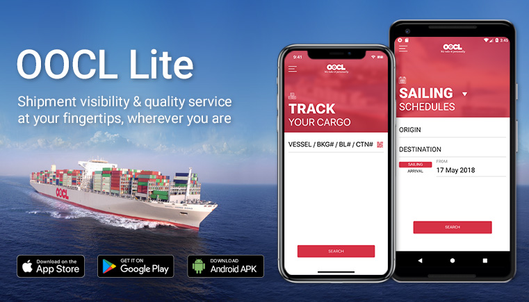 OOCL - Mobile Solution