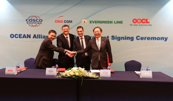 OOCL - OCEAN Alliance Sets Out Network